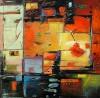 """Autumn Light -24""""x24"""", Oil,  SOLD"""